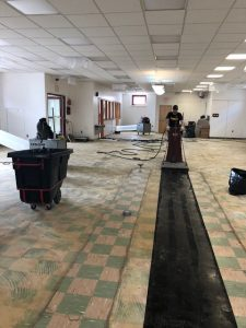 Our Unique Flooring Removal Process
