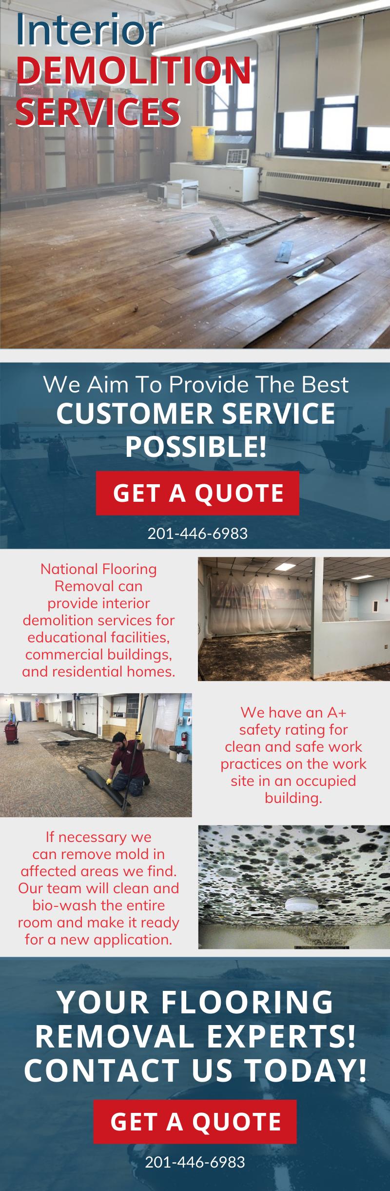 The Best In Interior Demolition Services! 🔨 3