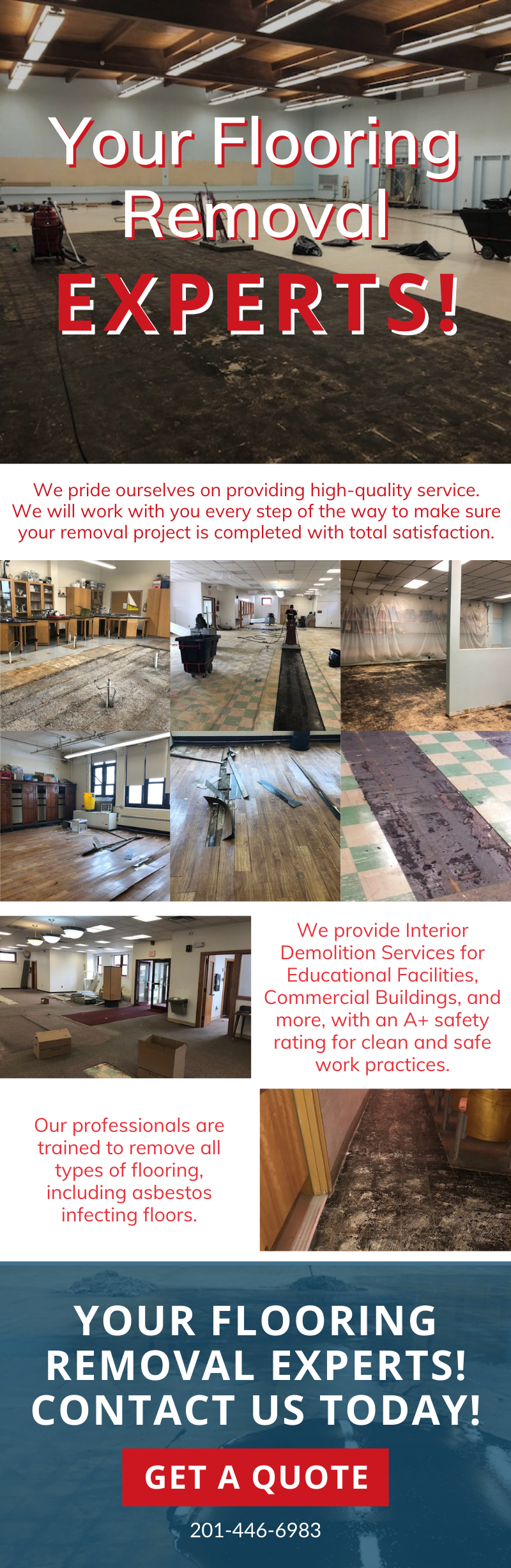Your Flooring Removal Experts! 3